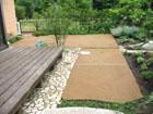 『雑草の生えない土』 施工工事