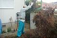 植木の伐採-抜根