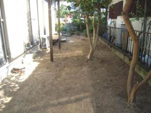 筑紫野市 N様邸 お庭の除草