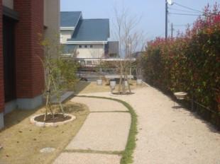 筑紫野市美しが丘南 S様邸 植栽工事