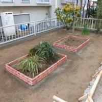 植え込み、花壇工事