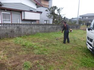 甘木市 草刈、伐採、抜根作業